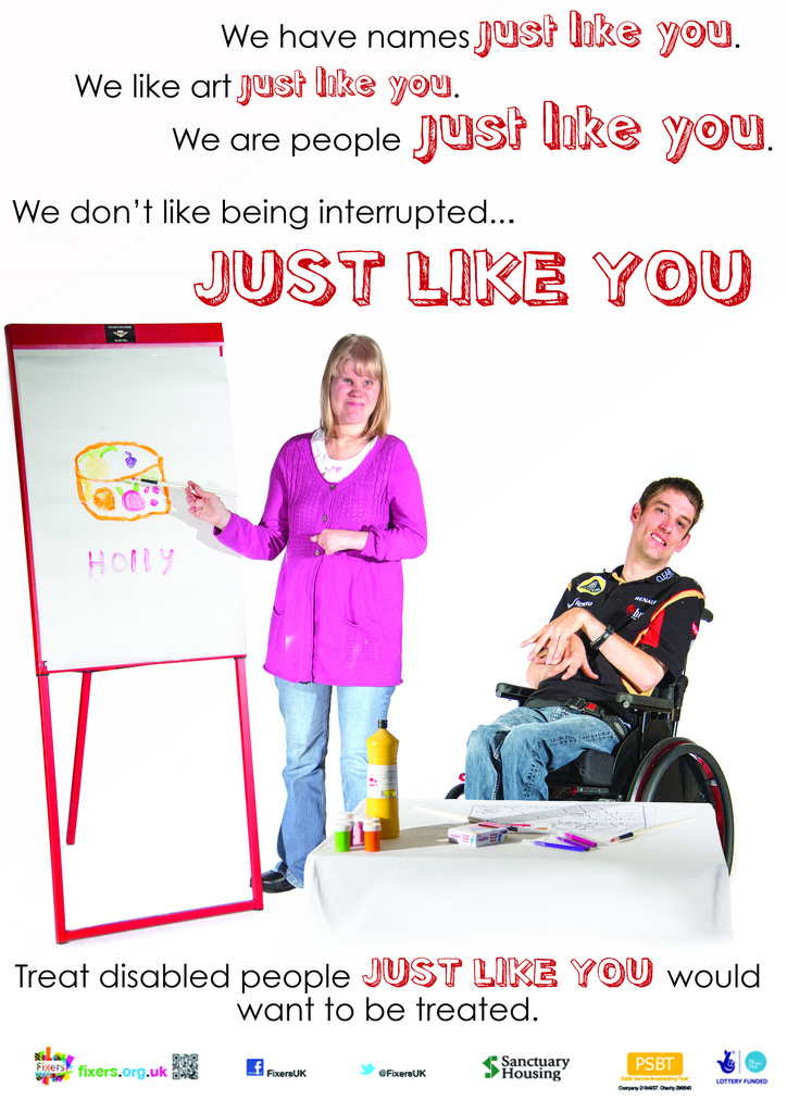 identity disabled people essay