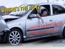 Jordan, 19, from Belfast wants to discourage young people from joyriding after her was arrested for driving a stolen car.