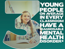 A school girl whose mental health disorder was dismissed as 'a teenage phase' wants adults to recognise that young people can have problems too.