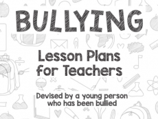 A teenager, whose confidence plummeted after she endured years of torment by her peers at school, has created a lesson plan for teachers to educate students about the  long term impact of bullying.