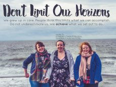 Three sisters from Banbury are challenging negative stereotypes of carer leavers.
