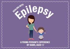Karis Charley, 17, has created a booklet showing teachers how to help pupils with epilepsy.