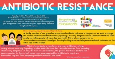 Abi Fraser, 16, has created a leaflet to educate people on antibiotic resistance