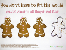 A poster campaign encouraging young people to be more body confident.
