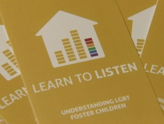 Learn To Listen: LGBT Foster Care Leaflet