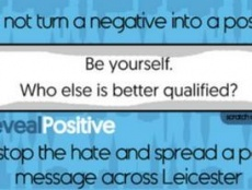 Haleemah Patel (16) from Leicester has experienced hate crime and is concerned such acts often go unchallenged. With Fixers, she's created this series of scratchcards to combat negative attitudes and help spread positivity where she lives.