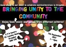 Unity In The Community Event Flyer