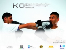 A group of passionate sportsmen are using their poster campaign to teach young people about how sport can benefit self-confidence, teamwork, and fitness.
