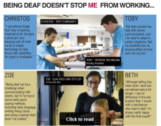 Being Deaf Doesn't Stop Me Poster