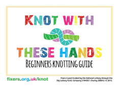 Friendship bracelet artwork and instruction guides to help young people who are self-harming.