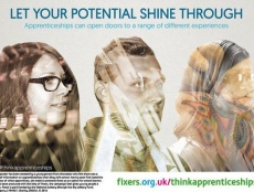Alexa Moore (24) from Stourport says at 16 she felt pushed towards university, and now wants to show school leavers the different options available. With Fixers, she's helped to create this series of postcards to highlight the benefits of apprenticeships, so young people can decide whether on-the-job training is right for them.