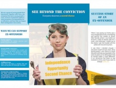 Break The System: See Beyond The Conviction Leaflet