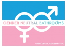 Louie Greenwood, 20, from Swansea, wants businesses to offer and advertise gender neutral toilets.
