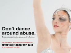 Don't Dance Around Abuse Poster