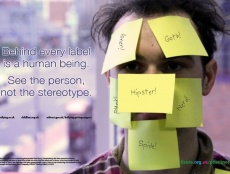 Kimmy Hasson is campaigning to show others that they are more than the names they are labelled with.