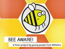 Freya Pigott (17) from Devizes, Wiltshire has launched a campaign with Fixers to show people just how important bees are to 70 types of crops in the UK which rely on bees to pollinate them. Along with her friends Freya has created a booklet educating people on how to be more bee friendly.