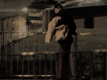 A scene from the Fixers music video