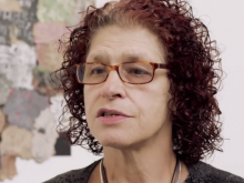 Art therapist and lecturer Jane Scheuer appears in Courtney's film