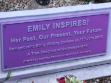 Millie is inspired by Suffragette Emily Wilding Davison
