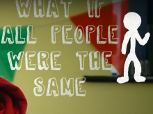 The team's film encourages people to be more accepting of those with special needs