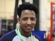 Daniel Habte fled his home country.