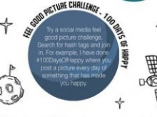 Activities include taking part in positive social media challenges
