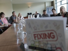 Fixers launch the report to health professionals