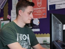 Martin has a degree and works for a charity in Coventry