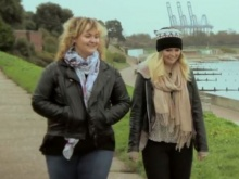 Fixers Ashleigh and Abbie in the film