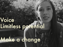 A young person in the Fixers film