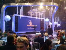 The awards ceremony was held at the world-famous Pinewood Studios
