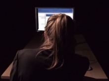 A school pupil experiences cyberbullying in the film