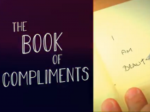Why not write a book of compliments to yourself?