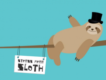 Bethan is using #bemoresloth to encourage more people to get involved with the campaign