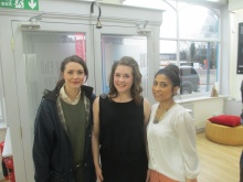 Creative Producer Sara and Nithee YPC with Natalie