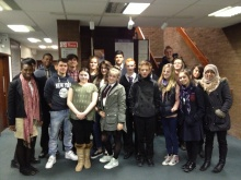 The group at Bexley Youth Council