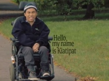 Kiatipat introduces himself in the film