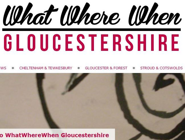 What Where When Gloucestershire - Youth Activities Website