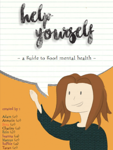 Breaghanna McMahon, 17, from Monmouth has created a booklet with her team to help people cope better with school stress.