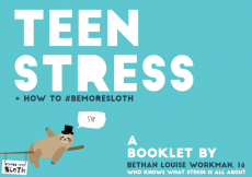A booklet helping young people cope better with stress.