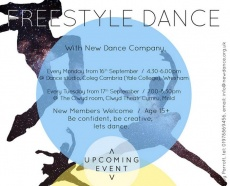 Freestyle Dance Poster