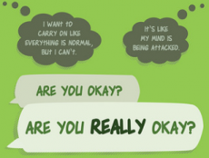 Are You Really Okay? Mental Health Poster