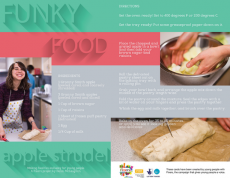 Funky Food Recipe Cards