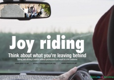 An 18-year-old from Limavady hopes to warn others of the dangers of joy riding and taking a vehicle without the owner's consent.
