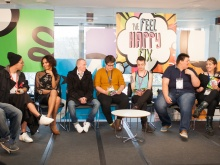 Young transgender people form the panel of experts